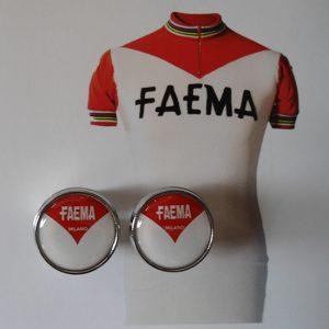 Faema handlebar end plugs
