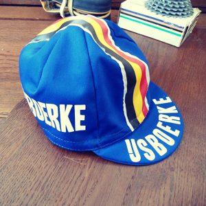 Ijsboerke Gios vintage casquette cycliste