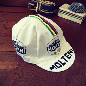Molteni eddy merckx vintage casquette cycliste