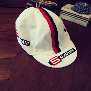 Salvarani Gimondi Altig vintage cycling cap