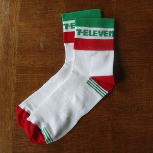 7-eleven cycling socks hampsten