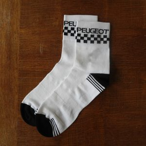 Peugeot Merckx Simpson cycling socks