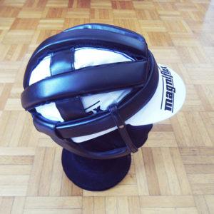 Retro cycling helmet
